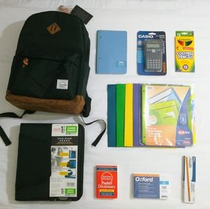 NEW Back to school supply backpack variety bundle